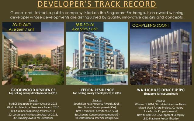 Wallich Residence Developer