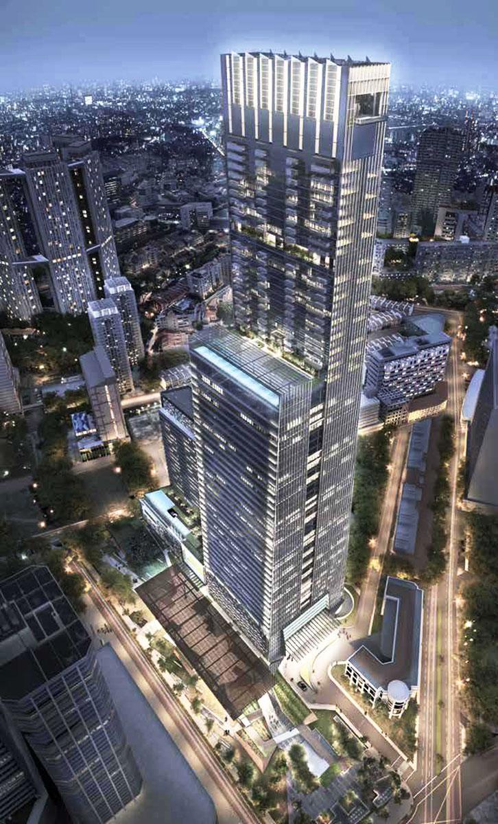 SG Tallest Building